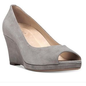Naturalizer Olivia (modern Gray Suede) Wedge